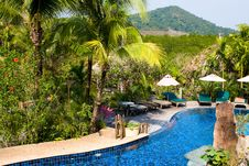 Free Tropical Resort Royalty Free Stock Images - 19204449