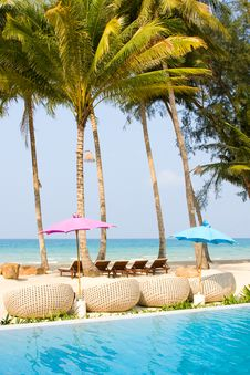 Beautiful Tropical Beach At Island Koh Kood Stock Photo