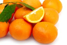 Free Juicy Orange Royalty Free Stock Images - 19205149