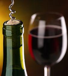 Free Still Life With Wine. Royalty Free Stock Photos - 19205978
