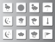 Free Weather Icon Set 2 Stock Image - 19206031