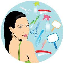 Free Beauty Salon Royalty Free Stock Photo - 19207525