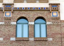 Free Brick Building And Window Detail Royalty Free Stock Photography - 19207637