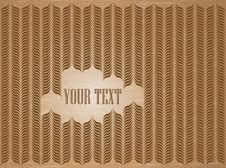 Free Vector Brown Background Royalty Free Stock Photo - 19207645