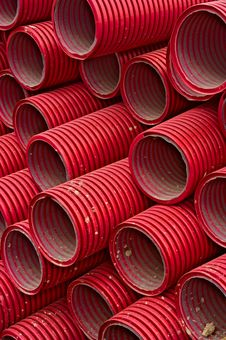 Free Red Tubes Stock Image - 19207861