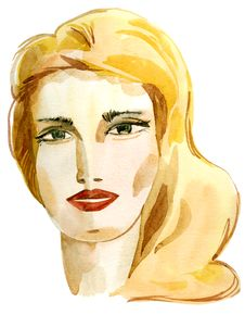 Free Woman Portrait Stock Image - 19207991