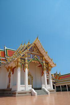 Free Thai Buddhist Temple Royalty Free Stock Photos - 19207998