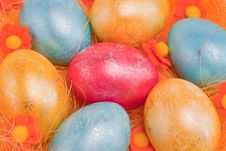Free Easter Eggs Stock Images - 19208154