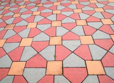 Free Pattern On The Ground Royalty Free Stock Photography - 19209307