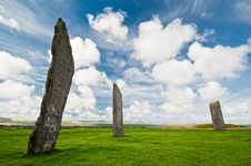 Free Standing Stones Of Stenness Stock Photo - 19209350