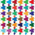 Free Color Abstract Fish Royalty Free Stock Photos - 19210778