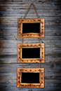 Free Three Bamboo Frames Stock Images - 19217624