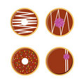 Free Donuts Set Stock Photography - 19218472