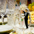 Free At The Wedding Table Royalty Free Stock Image - 19218916