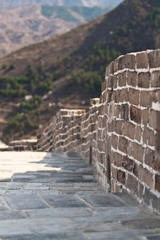 Free Great Wall, China Stock Images - 19210004
