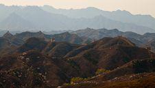 Free Great Wall, China Stock Photography - 19210012