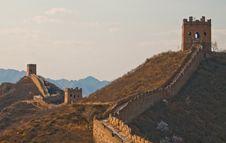 Free Great Wall, China Royalty Free Stock Photography - 19210017
