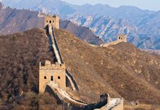 Free Great Wall, China Stock Images - 19210064