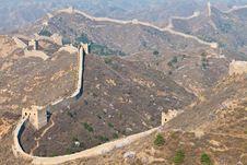 Free Great Wall, China Royalty Free Stock Image - 19210086