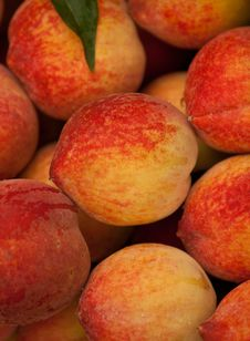 Free Peaches Royalty Free Stock Photos - 19210138