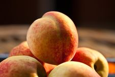 Free Peaches Royalty Free Stock Image - 19210156