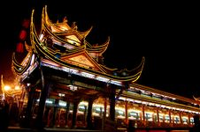 Free Chinese Temple Royalty Free Stock Photography - 19210157