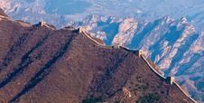 Free Great Wall, China Royalty Free Stock Photo - 19210305