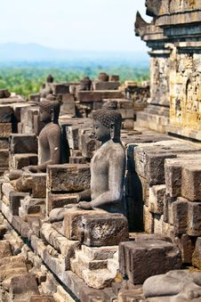 Free Borobudur Temple, Indonesia Stock Photo - 19210350