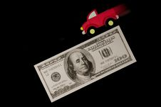 Free Blurry Truck On Money Stock Photos - 19210433