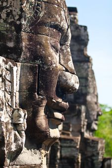 Free Bayon Temple Stock Images - 19210574