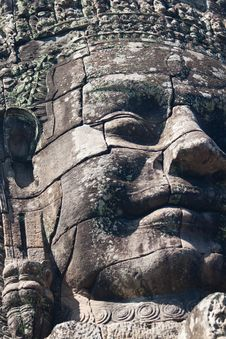 Free Bayon Temple Royalty Free Stock Photography - 19210577