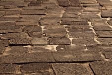 Free Paving Blocks Royalty Free Stock Photo - 19210605