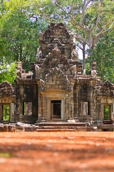 Free Temple In Angkor Royalty Free Stock Photo - 19210615