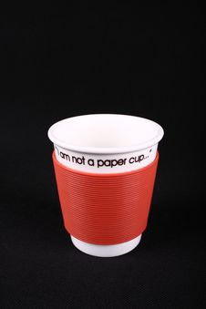 Free Not Paper Cup Royalty Free Stock Images - 19210759
