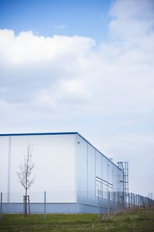 Free Manufacture Stockroom Modern Building Stock Photos - 19210923