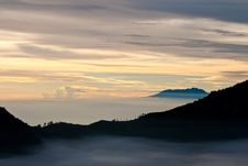 Free Volcano Sunrise, Indonesia Stock Photography - 19211072