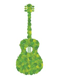 Free Leaf Of The Guitar Royalty Free Stock Image - 19211146