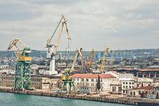Free Powerful Shipbuilding Shipyard Royalty Free Stock Image - 19212306