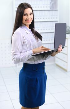 The Beautiful Business Woman Stock Photos