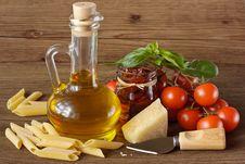 Free Italian Food. Stock Images - 19212814