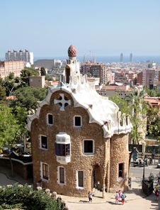 Free Park Guell Royalty Free Stock Photography - 19214027