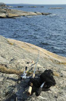 Free Sea Fishing Equipment Stock Photography - 19214122