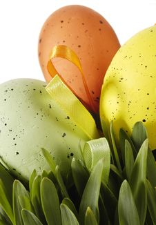 Free Easter Decoration Royalty Free Stock Photo - 19214425