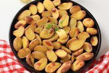 Free Roasted Potatoes Royalty Free Stock Photo - 19215005
