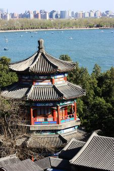 Free Pavilion In Summer Palace, Beijing Stock Photos - 19215573