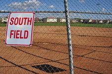 Free Softball Field Royalty Free Stock Photo - 19216345