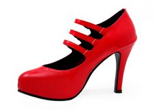 Free Red Shoes Royalty Free Stock Image - 19217766