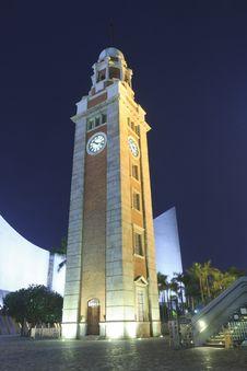 Tsim Sha Tsui Clock Tower Royalty Free Stock Photo