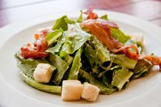 Free Bacon Salad Stock Images - 19217784