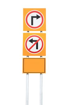 Free Turn Right Royalty Free Stock Image - 19218366